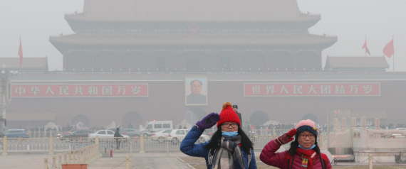 Beijing Smog Makes City 'Barely Suitable' For Life, Report Says